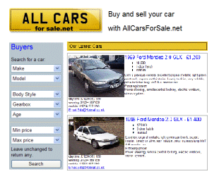 All Cars For Sale .net