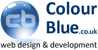 Colour Blue .co.uk logo